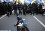 France protesters over retirement age
