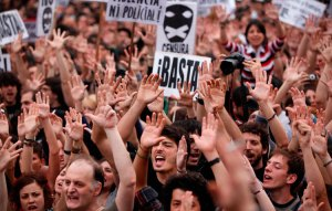 Image result for spanish revolution 2011